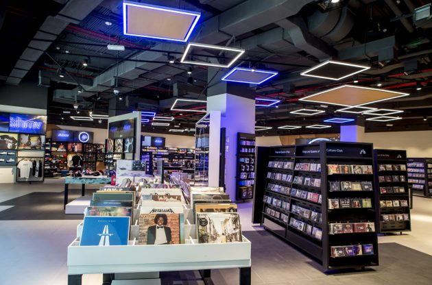 HMV Doha Shop Music