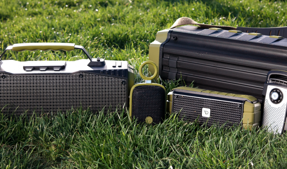 DreamWave: The rugged and rough Bluetooth speakers